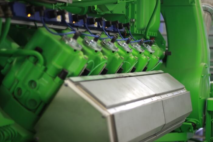 Смазку газового двигателя производства Jenbacher обеспечивают смазочные материалы ADDINOL
